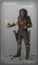 Abaddon: Nahir by DrawingNightmare