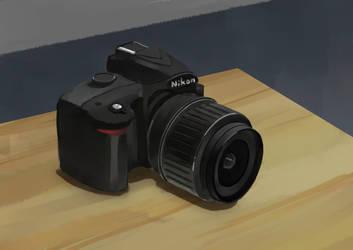 Nikon Still life by moooncube