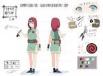 [C] Naruto Settei: Uzumaki Himiko by rin037