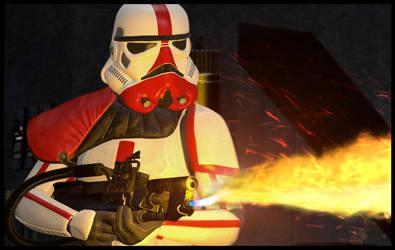Incinerator Trooper by TerritoryTunguska