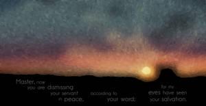 Luke 2:29-30 by superflippy