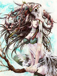 Antelone. by Yami-Hydran