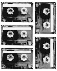 Cassette Tape Stickers by isaacwilson
