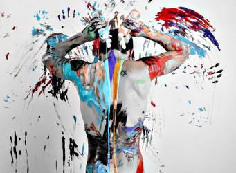Paint me by aheathphoto