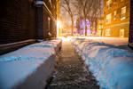 Feet of snow by aheathphoto