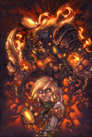Battle Chasers Tribute by thiagozero
