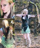 Aeruviel the elven archer by Smithy9