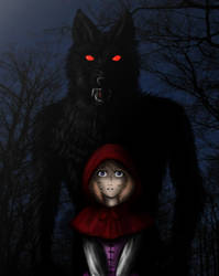 Little Red Riding Hood by Emi-Ookami