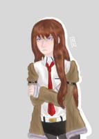 Kurisu Makise (Stein's Gate) by AC3RL3N