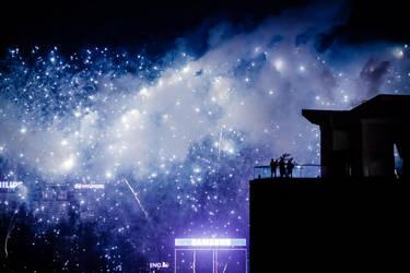 Fireworks in Hong kong by letg0