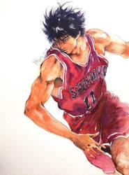 Rukawa @slam dunk by young920