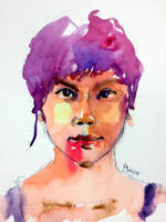 Watercolor Portrait of Tan Chui Mui by young920