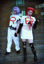Zombie Team Rocket by SKOpseudonym