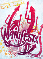 Manifest 2011 Poster by SKOpseudonym