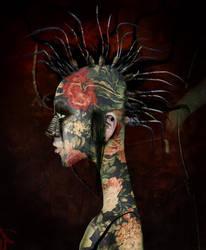 jackie is a punk by AnjaMillen