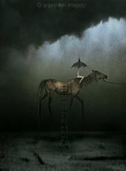 godiva going home by AnjaMillen