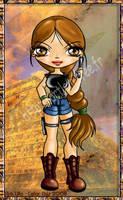 Lara croft by Kaelmo
