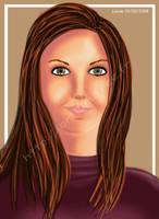 Simple portrait by Kaelmo