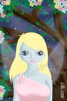 Elfe bleue by Kaelmo