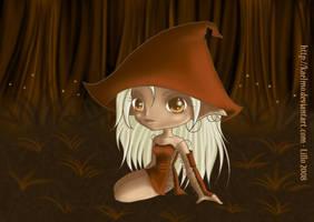 Elfe des bois by Kaelmo