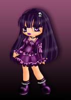 Goth violette by Kaelmo