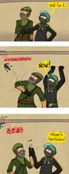 Bandit and Kaid by Dulcamarra