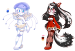 (CLOSED) Jellyfish n Koi {Auction} by MysticNoodles