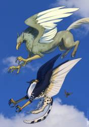 Risky Flight by CorruptedFox