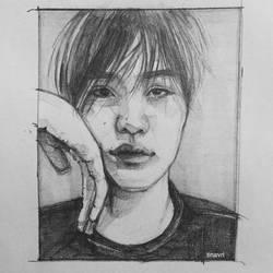 Yoongi by tinavrl