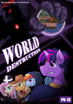 [SFW Comic] World Destruction Cover by vavacung
