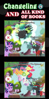 Changeling And All Kind Of Books 14 by vavacung
