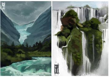 Environment study by Ilyaev