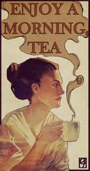 Morning tea by Ilyaev
