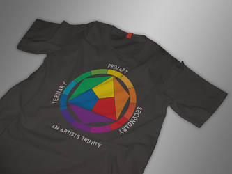 Artists Trinity T-Shirt Design - Mockup by Spiral-0ut