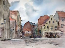 Torun Szczytna Street by NiceMinD