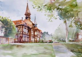 Fachwerk House by NiceMinD
