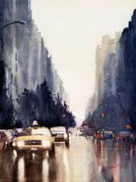 New York ver.2, 61x46cm by NiceMinD