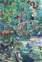 Brazilian fauna by disegno07
