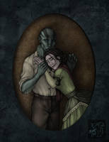 Contest prize 1: Abe and Edith by CreepyCatProductions