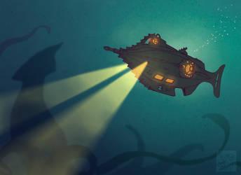 Nautilus by CreepyCatProductions