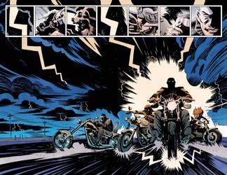Sleepy Hollow Providence #1 pg10/11 Color by JasonWordie