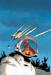 Forever War #1 Cover Colors by JasonWordie