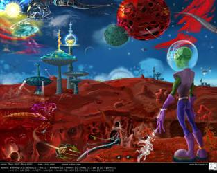 Mars 3000 by desktopart