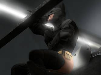 The Dark Knight Widens by ScoutFan