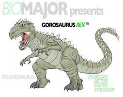 Gorosaurus REX by Rixshaw