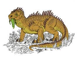 Retrosaur 1 by Rixshaw