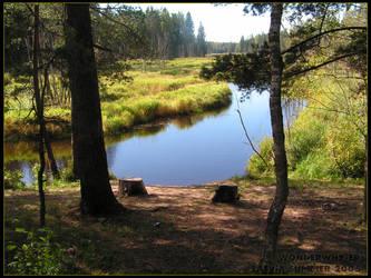 Summer river by wonderwhy-ER