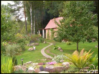 Summerhouse scenery by wonderwhy-ER