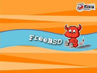 freebsd wallpaper 2 by rikulu