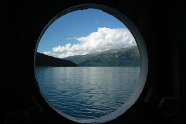 Through the window by darthsabe